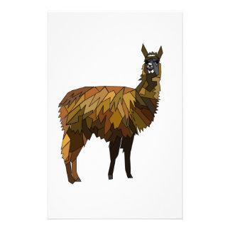 Llama geo design stationery