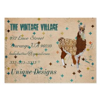 Llama Grunge  Business Card