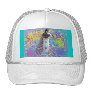 Llama in Fantasy Dream Land Mesh Hat