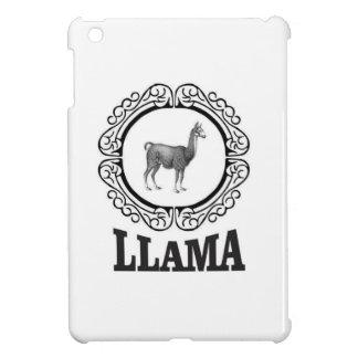 llama label cover for the iPad mini