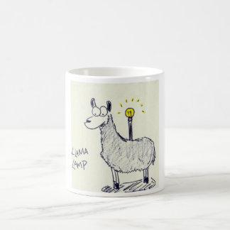 Llama Lamp Mug