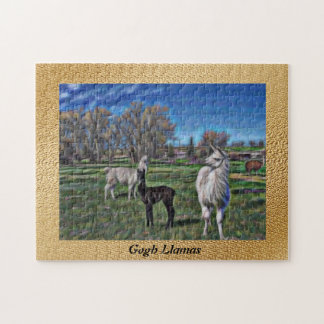 Llama llama llama jigsaw puzzle
