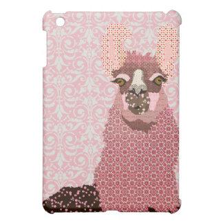 Llama Love Damask iPad Case