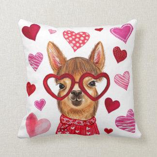 Llama Love Decorative Throw Pillow