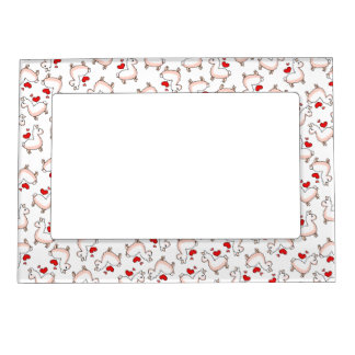Llama Madness Magnetic Picture Frame