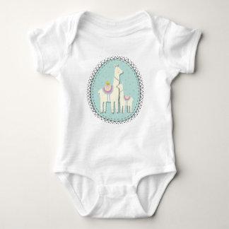 Llama momma and baby bodysuit