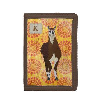 Llama Monogram Wallet