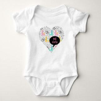 Llama, My Baby Llama, Mi Cria, Baby Bodysuit, Gift Baby Bodysuit
