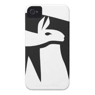 Llama NegaSpace iPhone 4 Case