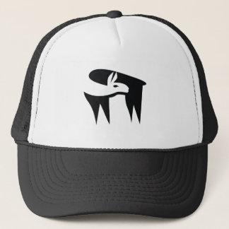 Llama NegaSpace Trucker Hat