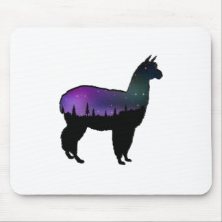 Llama Nights Mouse Pad