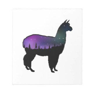 Llama Nights Notepad