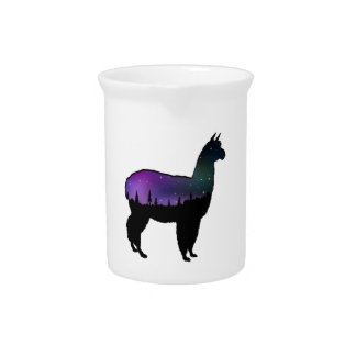 Llama Nights Pitcher
