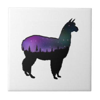 Llama Nights Tile