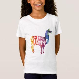 Llama. No Probllama. No Prob-llama. Funny Sayings T-Shirt
