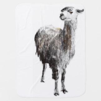 Llama not your Mama blanket. Baby Blanket