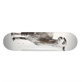 Llama not your mama skate board deck