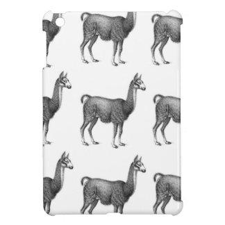 llama rows cover for the iPad mini