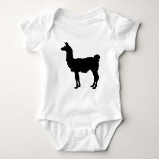 Llama silhouette baby bodysuit