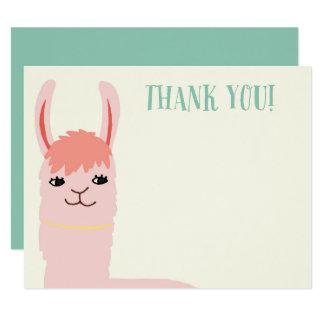 Llama Thank You Cards