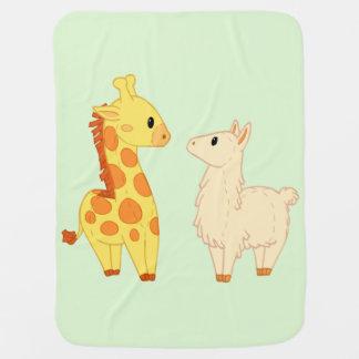 Llama Who? Baby Blanket