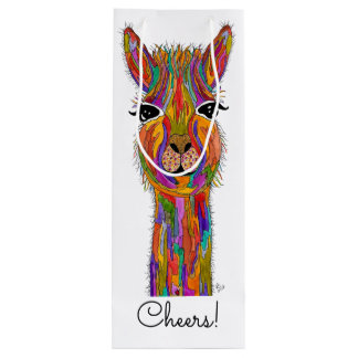 Llama Wine Bag (You can Customize)
