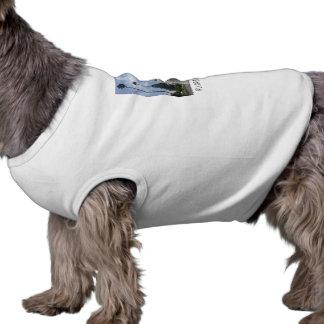 Llama With No Drama LA Dog T-Shirt