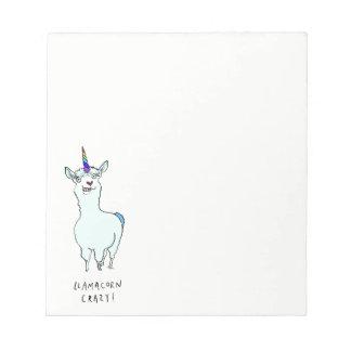Llamacorn Notepad