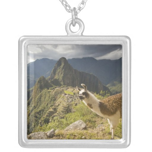 LLamas and an over look of Machu Picchu, Pendants