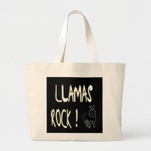 Llamas Rock! Tote Bag