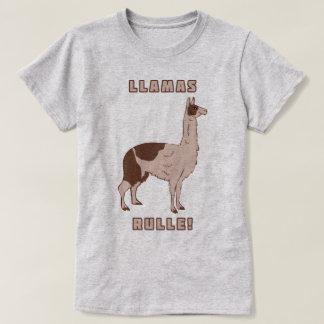 Llamas Rulle! T-Shirt