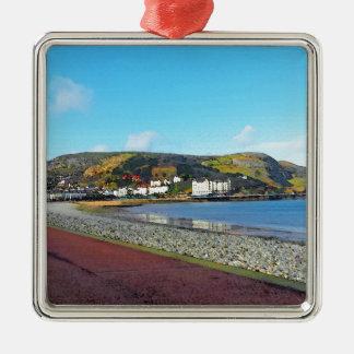 Llandudno, North Wales. Metal Ornament