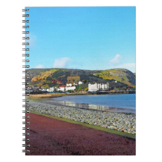 Llandudno, North Wales. Notebook