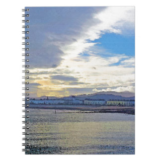 Llandudno, North Wales. Notebooks
