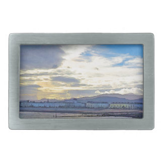 Llandudno, North Wales. Rectangular Belt Buckle