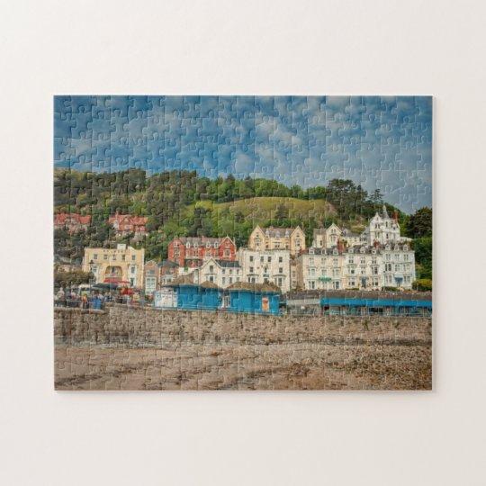 LLandudno North Wales Seaside Scenic View Jigsaw Jigsaw Puzzle