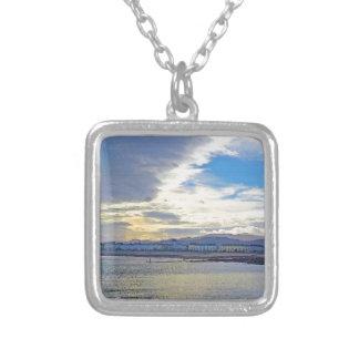 Llandudno, North Wales. Silver Plated Necklace