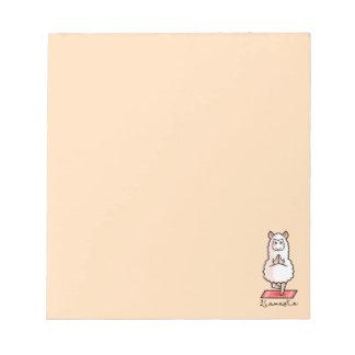 Lllamaste Notepad