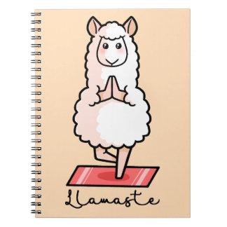 Lllamaste Spiral Notebook