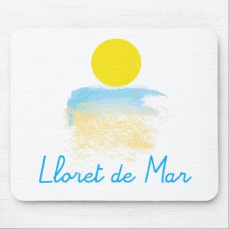 Lloret de Mar beach & sun Mouse Pad