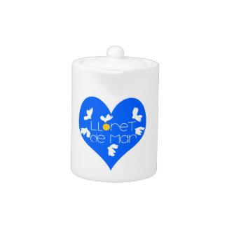 Lloret de Mar souvenir blue heart.