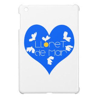 Lloret de Mar souvenir blue heart. iPad Mini Cases