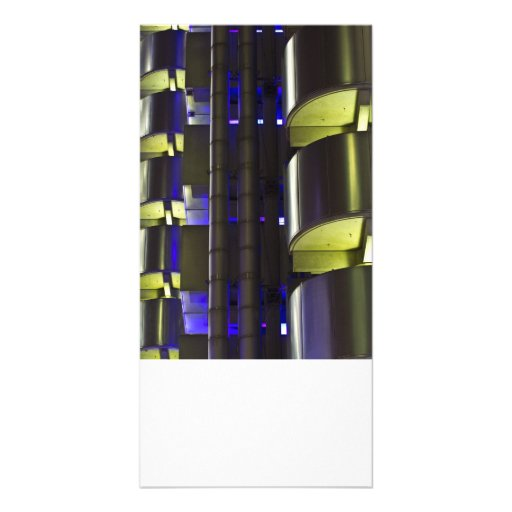 Lloyd's Building London abstract Photo Cards