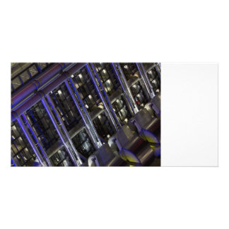 Lloyd's Building London abstract Photo Card