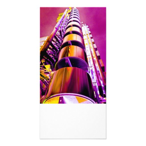 Lloyd's Building London Art Custom Photo Card