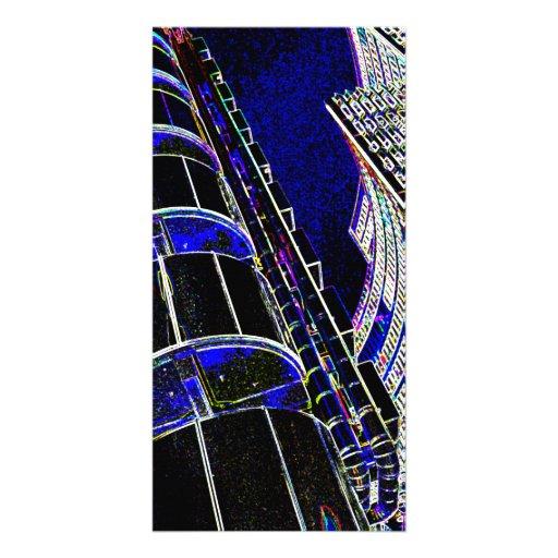 Lloyd's Building London Photo Card Template