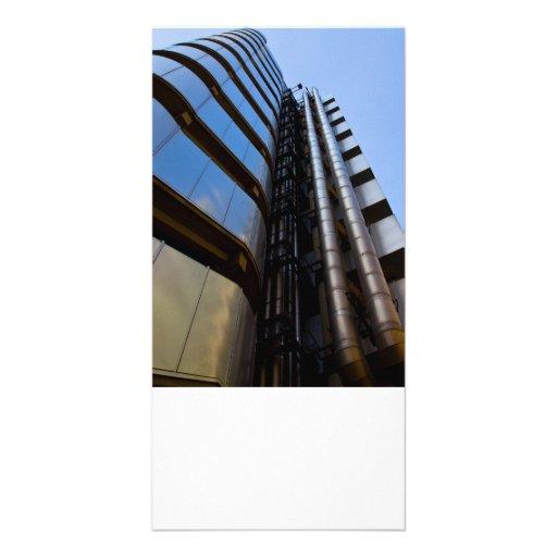 Lloyd's of London building Customized Photo Card