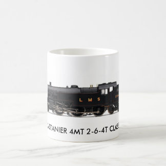 LMS STANIER 4MT 2-6-4T CLASS 4P CLASSIC WHITE COFFEE MUG
