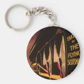 LNER Flying Scotsman Key Ring