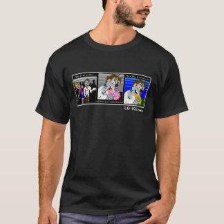 """LO-KU """"Los Muertos Vivientes"""" T-shirt (dark)"""